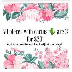 3/$20 SALE!!